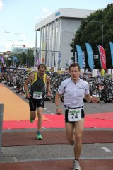 The only triathlon I did in 2012 was Tartu Triathlon